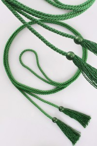 Cíngulo – borlas verdes