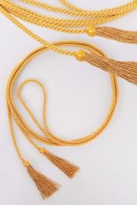 Cíngulo – borlas doradas