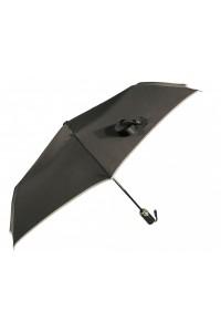 Paraguas con filo gris...