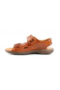 Cómodas sandalias de velcro...