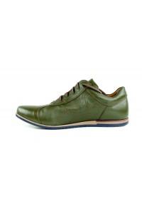 Zapatos de ciudad verde...