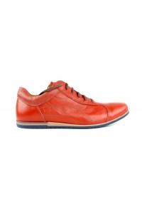 Zapatos de ciudad rojos -...