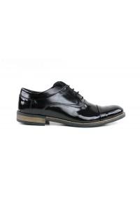 Zapatos brogue negros con...