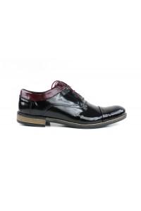 Zapatos brogue negros y...