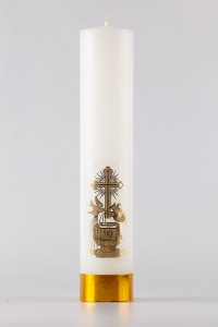 Bautismo - vela de altar [CH3]