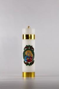 Vela de altar de parafina [OL-3]
