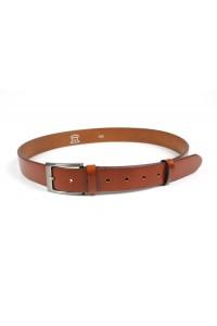 Cinturón de piel marrón...
