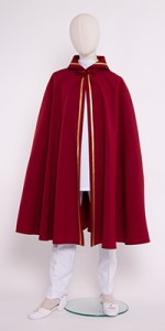 Capas largas con imitación de capucha (cono) - Vestimentas para coro - IndumentariaLiturgica.es