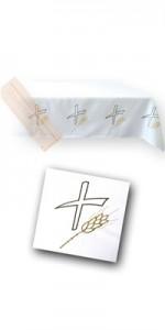 Manteles con bordados - Manteles - IndumentariaLiturgica.es