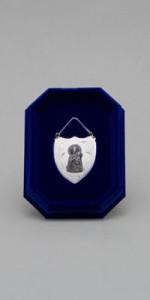Medalla votiva de plata - Objetos litúrgicos - IndumentariaLiturgica.es
