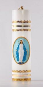 Velas de altar de parafina - Cirios - IndumentariaLiturgica.es