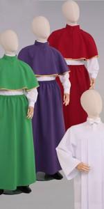 Conjuntos de altar - Lectores y monaguillos - IndumentariaLiturgica.es