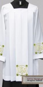 Sobrepellices con bordados - Roquetes para sacerdotes - IndumentariaLiturgica.es