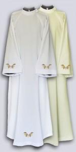 Albas con bordado - Albas para sacerdotes - IndumentariaLiturgica.es