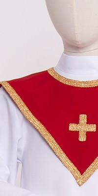 Cuellos de coro 1 – triangulares