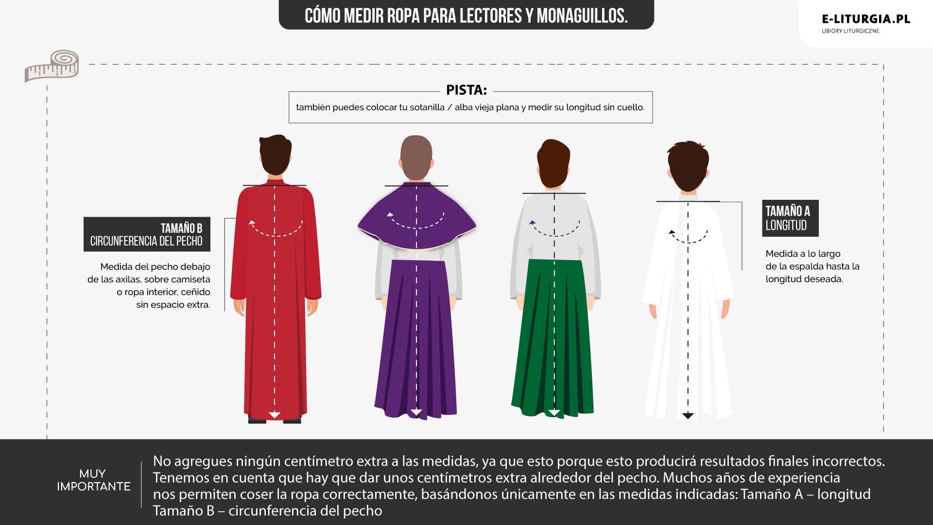 Lektorzy i ministranci (Sutanki kolorowe)